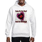 Valentine Fragile Heart Hooded Sweatshirt