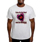 Valentine Fragile Heart Light T-Shirt