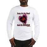 Valentine Fragile Heart Long Sleeve T-Shirt