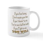 Winner Motivational Mug