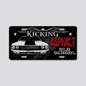 Kicking Asphalt - Challenger Aluminum License Plat