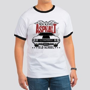 Kicking Asphalt - Challenger Ringer T