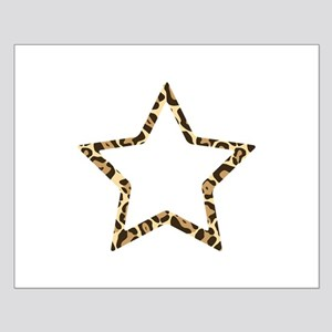 Leopard Star Small Poster