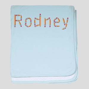 Rodney Pencils baby blanket