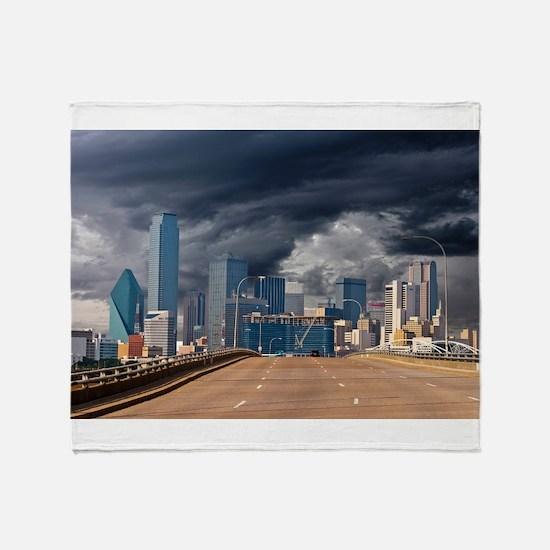 Storms Brewin TGP_6205.jpg Throw Blanket