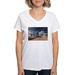 Storms Brewin TGP_6205 Women's V-Neck T-Shirt