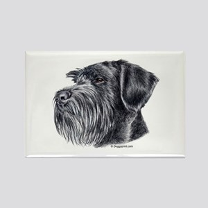 Giant Schnauzer Rectangle Magnet