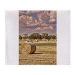 Southfork Ranch DSC_6276 Throw Blanket