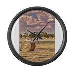 Southfork Ranch DSC_6276 Large Wall Clock