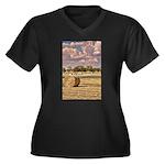 Southfork Ranch DSC_6276 Women's Plus Size V-N