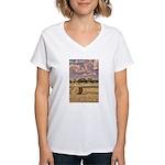 Southfork Ranch DSC_6276 Women's V-Neck T-Shir