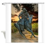 Cowboy Cathedral TGP_6284 Shower Curtain