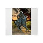 Cowboy Cathedral TGP_6284 Throw Blanket
