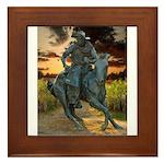 Cowboy Cathedral TGP_6284 Framed Tile