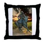 Cowboy Cathedral TGP_6284 Throw Pillow