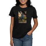 Cowboy Cathedral TGP_6284 Women's Dark T-Shirt