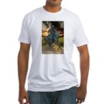 Cowboy Cathedral TGP_6284 Fitted T-Shirt