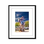 Cowboy Up! DSC_6165 Framed Panel Print