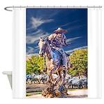 Cowboy Up! DSC_6165 Shower Curtain