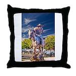 Cowboy Up! DSC_6165 Throw Pillow