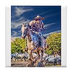 Cowboy Up! DSC_6165 Tile Coaster