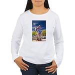 Cowboy Up! DSC_6165 Women's Long Sleeve T-Shir