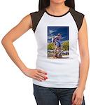 Cowboy Up! DSC_6165 Women's Cap Sleeve T-Shirt