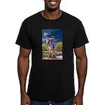 Cowboy Up! DSC_6165 Men's Fitted T-Shirt (dark