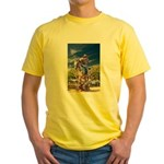 Cowboy Up! DSC_6165 Yellow T-Shirt