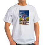 Cowboy Up! DSC_6165 Light T-Shirt