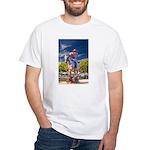 Cowboy Up! DSC_6165 White T-Shirt