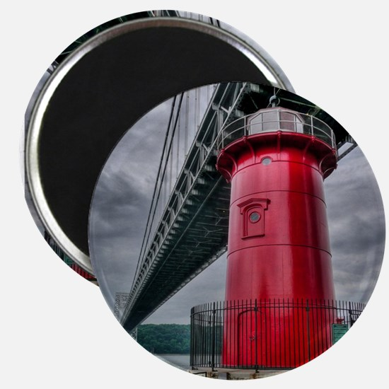 Little Red Lighthouse Nyc Magnets