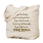 Winners Motivational Tote Bag
