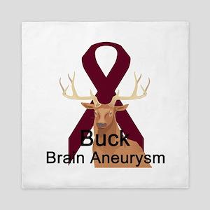 buck-brain-aneurysm Queen Duvet
