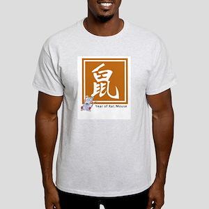 Chinese rat zodiac Ash Grey T-Shirt