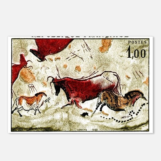 1968 France Lascaux Cave Paintings Postage Stamp P