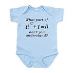 Don't Understand Euler's Equation Infant Bodysuit