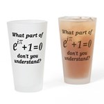 Don't Understand Euler's Equation Drinking Glass