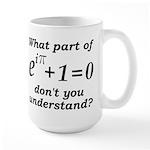 Don't Understand Euler's Equation Large Mug