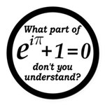 Don't Understand Euler's Equation Round Car Magnet