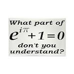 Don't Understand Euler's Equation Rectangle Magnet
