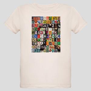 Places of Pi Organic Kids T-Shirt