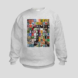 Places of Pi Kids Sweatshirt