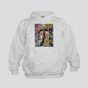 Places of Pi Kids Hoodie