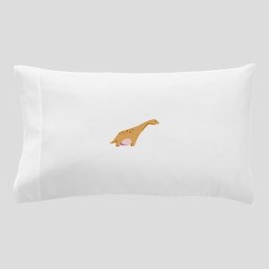 Brontosaurus Dinosaur Pillow Case