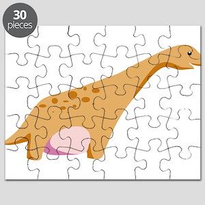Brontosaurus Dinosaur Puzzle