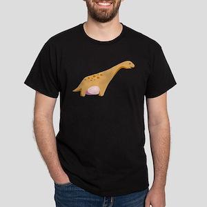 Brontosaurus Dinosaur Dark T-Shirt