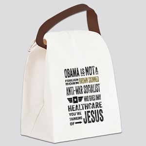 Obama Canvas Lunch Bag