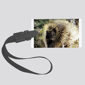 Prickly Subject Large Luggage Tag