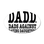 DADD 20x12 Oval Wall Decal